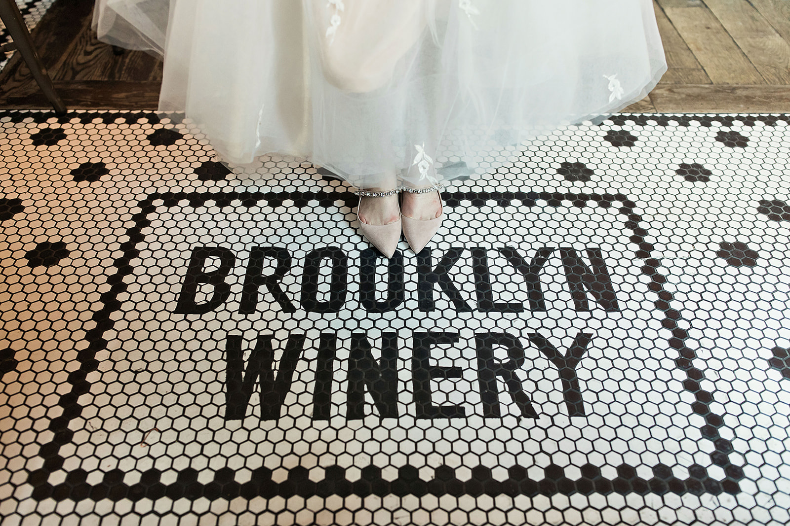 Brooklyn Winery Entrance Tile